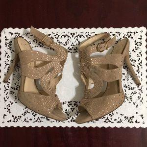 Jessica Simpson Betz Stiletto Heel Sandal Size 7M